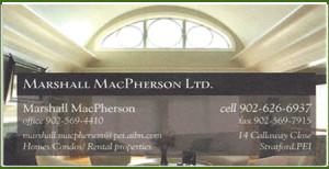 Marshall MacPherson Ltd. PEI