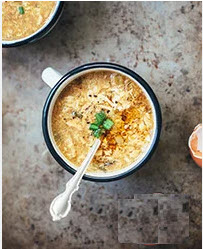 Hot & Sour Soup with Eggs
