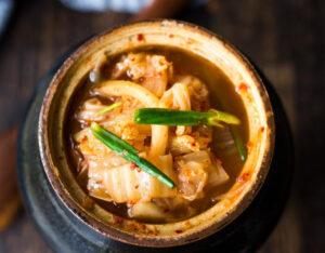 Homemade Kimchi (Spicy)