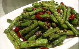 Chinese Long Beans in Black Bean Sauce