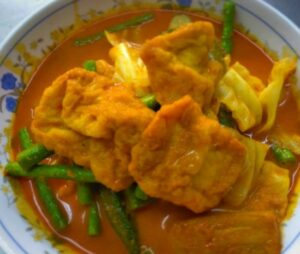 Curry Vegetable with To-Fu