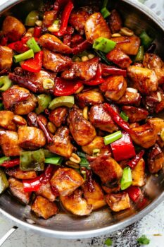 Kung Pao Veggie Chicken or Beef