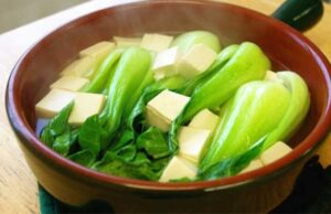 Chinese Vegetable Tofu Soup